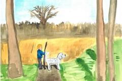 de jongen de hond en de stok 2